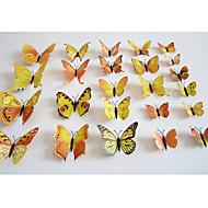 povoljno -3D Zid Naljepnice Zidne naljepnice Dekorativne zidne naljepnice,plastic Materijal Odstranjivo / Ponovno namjestiti Početna DekoracijaZid