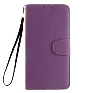 Для Samsung Galaxy S7 Edge Бумажник для карт / Кошелек / со стендом / Флип Кейс для Чехол Кейс для Один цвет Мягкий Искусственная кожа