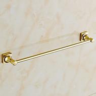 abordables Artículos para el Hogar-Barra para Toalla Moderno Latón 1 pieza - Baño del hotel Barra de 1 toalla