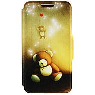 お買い得  携帯電話ケース-ケース 用途 Huawei社P9 Huawei社の名誉4X Huawei社P9ライト Huawei Huawei社の名誉3C Huawei社P9プラス P9 Lite P9 Huaweiケース カードホルダー スタンド付き フルボディーケース カートゥン ハード PUレザー