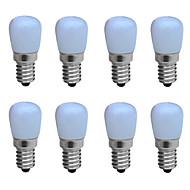 お買い得  -1W E14 LEDキャンドルライト B 1 LEDの COB 装飾用 温白色 クールホワイト 100-150lm 6000-6500/3000-3200K 交流220から240V