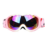 abordables Accesorios para Deportes de Invierno-profesionales contra la niebla gafas de esquí lente de doble capa de los niños de alta calidad
