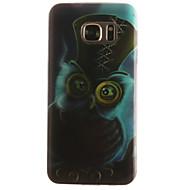 Недорогие Чехлы и кейсы для Galaxy S7 Edge-Кейс для Назначение SSamsung Galaxy Samsung Galaxy S7 Edge С узором Кейс на заднюю панель Животное Мягкий ТПУ для S7 edge S7 S6 edge S6