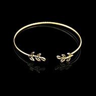 Kadın's Bilezikler Halhallar - Vintage, Açık Bilezikler Mücevher Gümüş / Altın Uyumluluk Yılbaşı Hediyeleri Günlük