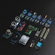 お買い得  Arduino 用アクセサリー-arduino用arduino raspberry pi用16種類のセンサーモジュールキット