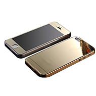 Недорогие Защитные плёнки для экрана iPhone-Защитная плёнка для экрана Apple для iPhone 6s Plus iPhone 6 Plus Закаленное стекло 1 ед. Защитная пленка для экрана и задней панели