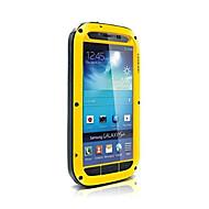 rakkaus mei vesitiivis iskunkestävä alumiini gorilla metallinen kotelo Samsung Galaxy S4 i9500