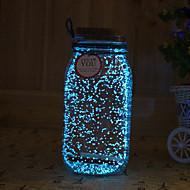 1 stk solenergi noctilucence nattlys artware tampion ønsker flaske nattlys