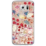 Назначение Samsung Galaxy S7 Edge Чехлы панели Прозрачный С узором Задняя крышка Кейс для Цветы Мягкий Термопластик для Samsung S7 edge