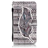 Для Кейс для  Samsung Galaxy Бумажник для карт / Кошелек / со стендом / Флип Кейс для Чехол Кейс для Перо Мягкий Искусственная кожа