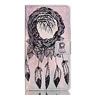 """Для Кейс для Huawei / P9 / P9 Lite Кошелек / Бумажник для карт / со стендом / Флип Кейс для Чехол Кейс для Рисунок """"Ловец снов"""" Мягкий"""