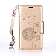 Для Кейс для  Samsung Galaxy Кошелек / Бумажник для карт / Защита от удара / Защита от пыли / Стразы / со стендом / Рельефный Кейс для