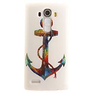 お買い得  携帯電話ケース-ケース 用途 LG G3ミニ その他 LG LG G4 LGケース パターン フルボディーケース アンカー ソフト PUレザー のために