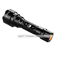 halpa Taskulamput-U'King ZQ-ZJTc8 LED taskulamput LED 1200LM lm 3 Tila XM-L2 T6 Himmennettävissä Telttailu/Retkely/Luolailu Ulkoilu