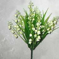 お買い得  -人工花 1 ブランチ 田園 スタイル 植物 テーブルトップフラワー