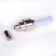 お買い得  フラッシュライト/ランタン/ライト-自転車用ライト パルブキャップフラッシングライト サイクリング アラーム 防水 ボタン電池 AG10 ルーメン バッテリー サイクリング - FJQXZ