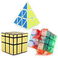 voordelige Speelgoed & Hobby's-Rubiks kubus Pyramid Alien Spiegelkubus 3*3*3 Soepele snelheid kubus Magische kubussen Puzzelkubus professioneel niveau Snelheid Toren