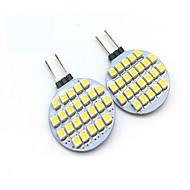 Χαμηλού Κόστους LED Φώτα με 2 pin-2W G4 LED Φώτα με 2 pin T 24 leds SMD 3528 Διακοσμητικό Θερμό Λευκό Ψυχρό Λευκό 200lm 3000/6000K DC 12V