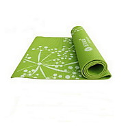 PVC Yoga Mats 173*61*0.8 Eco Friendly / Libre de Olores 3.5 mm Rosa / Verde / Morado No