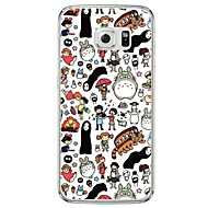cheap Cases / Covers for Samsung-Cartoon Totoro Pattern Soft Ultra-thin TPU Back Cover For Samsung GalaxyS7 edge/S7/S6 edge/S6 edge plus/S6/S5/S4