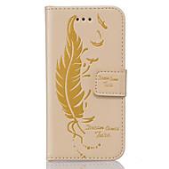Для Кейс для  Samsung Galaxy Бумажник для карт / Кошелек / со стендом / Флип / Рельефный Кейс для Чехол Кейс для Other Мягкий