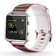 Недорогие Аксессуары для смарт-часов-Ремешок для часов для Fitbit Alta Fitbit Blaze Fitbit Flex Fitbit Спортивный ремешок силиконовый Повязка на запястье