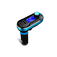 cheap Electronics Accessories-Wireless Hands-free Bluetooth Car Kit  FM Transmitter MP3 Player With Dual 2.1A USB Charging,Support USB/SD/Aux-in