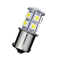 preiswerte -10 x weiß 1156 BA15S 13-SMD 5050 LED Glühbirnen Blinker Backup Reverse 12v