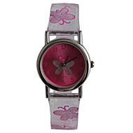 abordables Relojes para Chico-Reloj de Pulsera Resistente al Agua Plastic Banda Casual / Mariposa / Moda Morado / Un año / Tianqiu 377