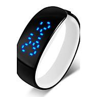 Недорогие Фирменные часы-SKMEI Муж. Жен. Модные часы Часы-браслет Цифровой Черный / Синий / Красный 30 m Защита от влаги Сенсорный экран Календарь Цифровой На каждый день - Розовый Красный Синий / LED / LED