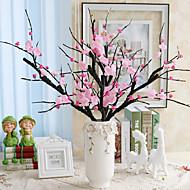 abordables Flores Artificiales-Flores Artificiales 1 Rama Estilo Simple Sakura Flor de Mesa
