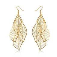 Недорогие $0.99 Модное ювелирное украшение-Жен. С кисточками Длиные Серьги - В форме листа кисточка, Богемные, Мода Золотой Назначение Повседневные