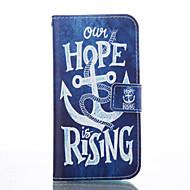 Χαμηλού Κόστους Θήκες / Καλύμματα για Samsung-Για Samsung Galaxy Θήκη Θήκη καρτών / με βάση στήριξης / Ανοιγόμενη / Με σχέδια tok Πλήρης κάλυψη tok Άγκυρα Μαλακή Συνθετικό δέρμα