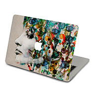 abordables Adhesivos Skin para Mac-1 pieza Adhesivo para Anti-Arañazos Caricaturas Ultra Delgado Mate Diseño PVC MacBook Pro 15'' with Retina MacBook Pro 15 '' MacBook Pro