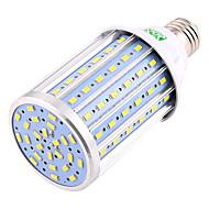 halpa -ywxlight® 22w e26 / e27 led maissi valot 102 smd 5730 2000-2200 lm lämmin valkoinen kylmä valkoinen koriste ac 85-265 ac 220-240 ac