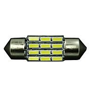 """10 x Bembeyaz yüksek güç 31mm 1.22 """"fisto araba 3022 3021 ışık 12v de3175 led"""