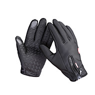 cheap Sports & Outdoors Accessories-Touch Gloves Ski Gloves Bike Gloves / Cycling Gloves Men's Women's Full-finger Gloves Keep Warm Waterproof Windproof Anti-skidding Canvas
