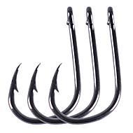 お買い得  釣り用アクセサリー-フィッシングアクセサリー フィッシング - 100 個 - 使いやすい 炭素鋼 - 海釣り 川釣り 一般的な釣り