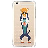 Недорогие Кейсы для iPhone 8 Plus-Кейс для Назначение Apple iPhone X iPhone 8 iPhone 6 iPhone 6 Plus Защита от пыли Защита от удара Прозрачный Кейс на заднюю панель