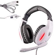 Sades SA-902C Kopfhörer (Kopfband)ForMedia Player/Tablet PC / ComputerWithMit Mikrofon / DJ / Lautstärkeregler / FM-Radio / Spielen /