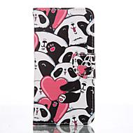 tanie Galaxy S5 Mini Etui / Pokrowce-Na Samsung Galaxy S7 Edge Portfel / Etui na karty / Z podpórką Kılıf Futerał Kılıf Wzór zwierzęcy Miękkie Skóra PU SamsungS7 edge / S6 /