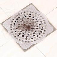 15pcs keuken wegwerp drain sticker haar filter afvoerputje wastafel badkamer schoonmaken papier afvoer stop schoonmaken van het huis