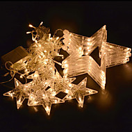voordelige LED-snoerverlichting-1pc 2,5 m 138led lichtslinger voor feestviering bruiloft led verlichting