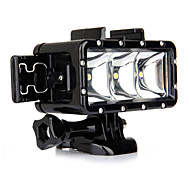 Spot Light LED Wodoszczelna obudowa Wbudowany Lampa błyskowa Dla Action Camera Gopro 5 Gopro 3 Gopro 2 Gopro 3+ Gopro 1 Sport DV Gopro