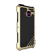 Недорогие Чехлы и кейсы для Galaxy S7-Кейс для Назначение SSamsung Galaxy Samsung Galaxy S7 Edge Защита от удара Чехол Сплошной цвет Твердый Алюминий для S7 edge / S7