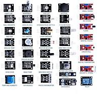 お買い得  Arduino 用アクセサリー-37 - 1 arduinoのセンサモジュール60pcs抵抗学習キット