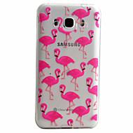 お買い得  Samsung 用 ケース/カバー-ケース 用途 Samsung Galaxy Samsung Galaxy ケース パターン バックカバー 動物 ソフト TPU のために J5 (2016) J5 J3 (2016)