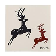 1 타투 스티커 애니멀 시리즈 deer 플래시 문신 임시 문신