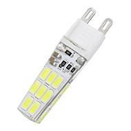 Недорогие Интеллектуальные огни-10 шт 16 G9 водить smd5733 AC110V / 220 v 650 лм белый / теплый белый водонепроницаемый лампы