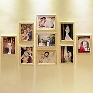 abordables Marcos y álbumes de fotos-Marcos Campestre Rectangular,Madera 9
